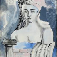 Milena Barilli, Composizione, 1932, olio su tela, Galleria d'Arte Moderna di Roma Capitale