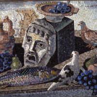 Gino Severini, Composizione, 1933, mosaico, Galleria d'Arte Moderna di Roma Capitale