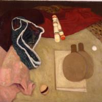 Giuseppe Capogrossi, Giuochi, 1935 ca., olio su tela, Galleria d'Arte Moderna di Roma     Capitale