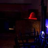 Thorsten Kirchhoff, Corso avanzato di perfezionamento (paura), 2012-14 impianto audio, luci psichedeliche misura ambientale, foto Giorgio Benni